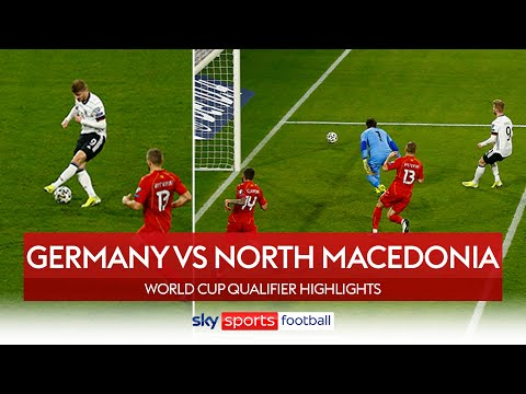 Werner misses sitter in shock defeat! | Germany 1-2 North Macedonia | World Cup Qualifier Highlights