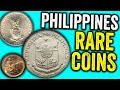 10 PHILIPPINE PISO PESO COINS WORTH MONEY - VALUABLE WORLD AND FOREIGN COINS