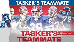 Who Was Steve Tasker's Teammate for All 4 Super Bowls? | One Bills Live