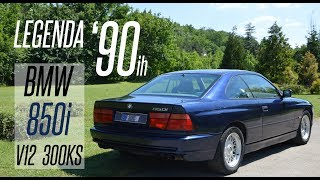 TEST VOZNJA BMW 850i V12 300KS 1992