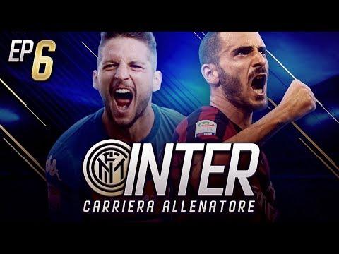 PARTITE ASSURDE!! DERBY DI MILANO E SFIDA AL NAPOLI!!!- CARRIERA ALLENATORE INTER EP.6 FIFA 18