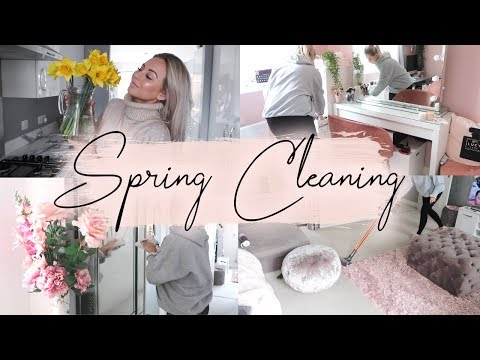HUGE SPRING CLEAN | CLEAN WITH ME | Lucy Jessica Carter