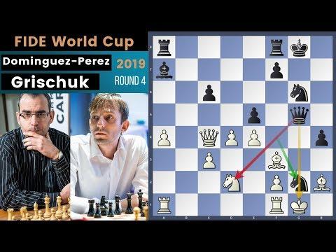Dangerous But Wrong! - Dominguez Perez vs Grischuk | Fide World Cup 2019