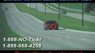 dodge charger with a laser jammer