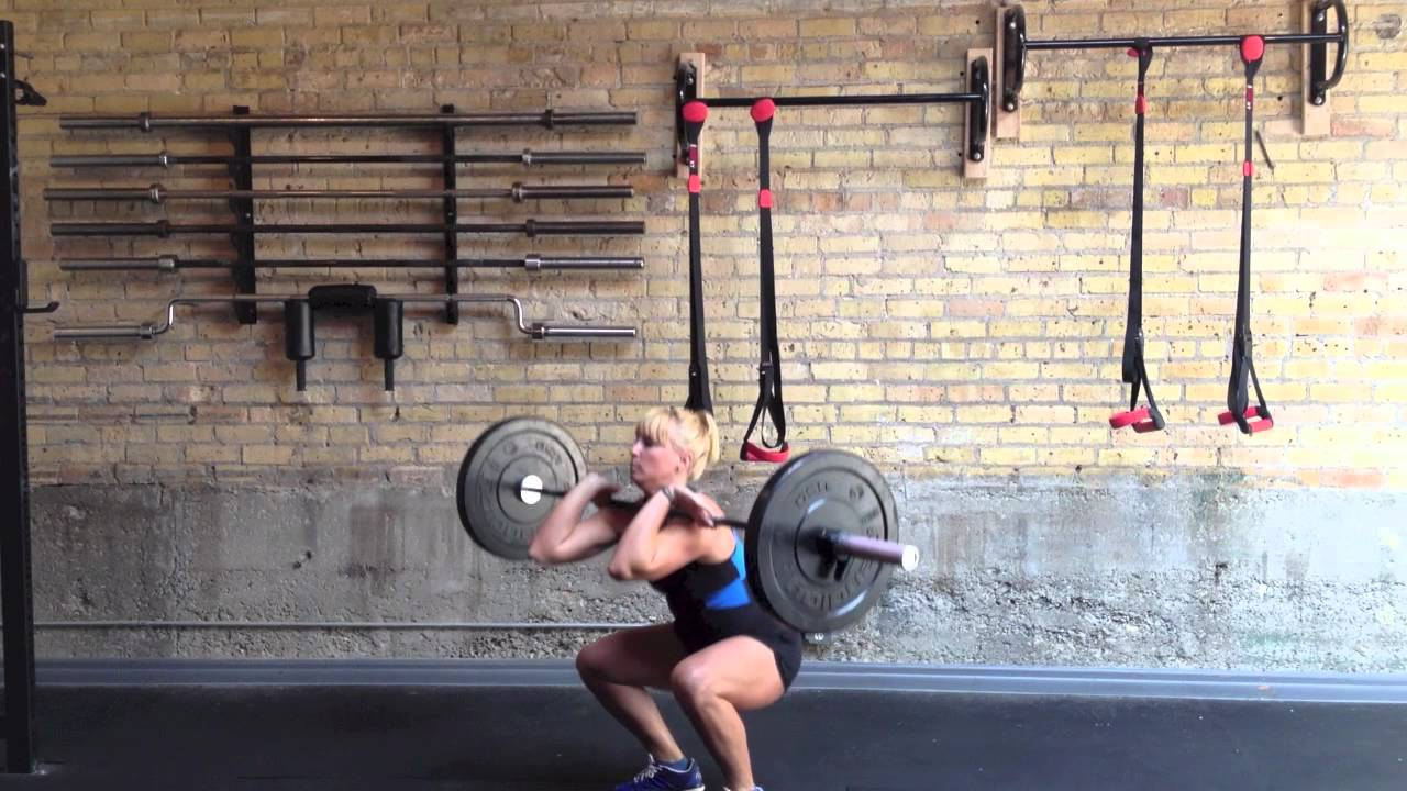 how to do a power clean crossfit