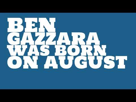 Who does Ben Gazzara share a birthday with?
