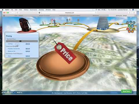 Marketing Simulation Game Audio Screencast Overview