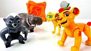 #Мультик ЛЬВИНАЯ ОХРАНА 🐯 Король ЛЕВ #КАЙОН и Друзья 💫 Видео для Детей / Распаковка #forkids