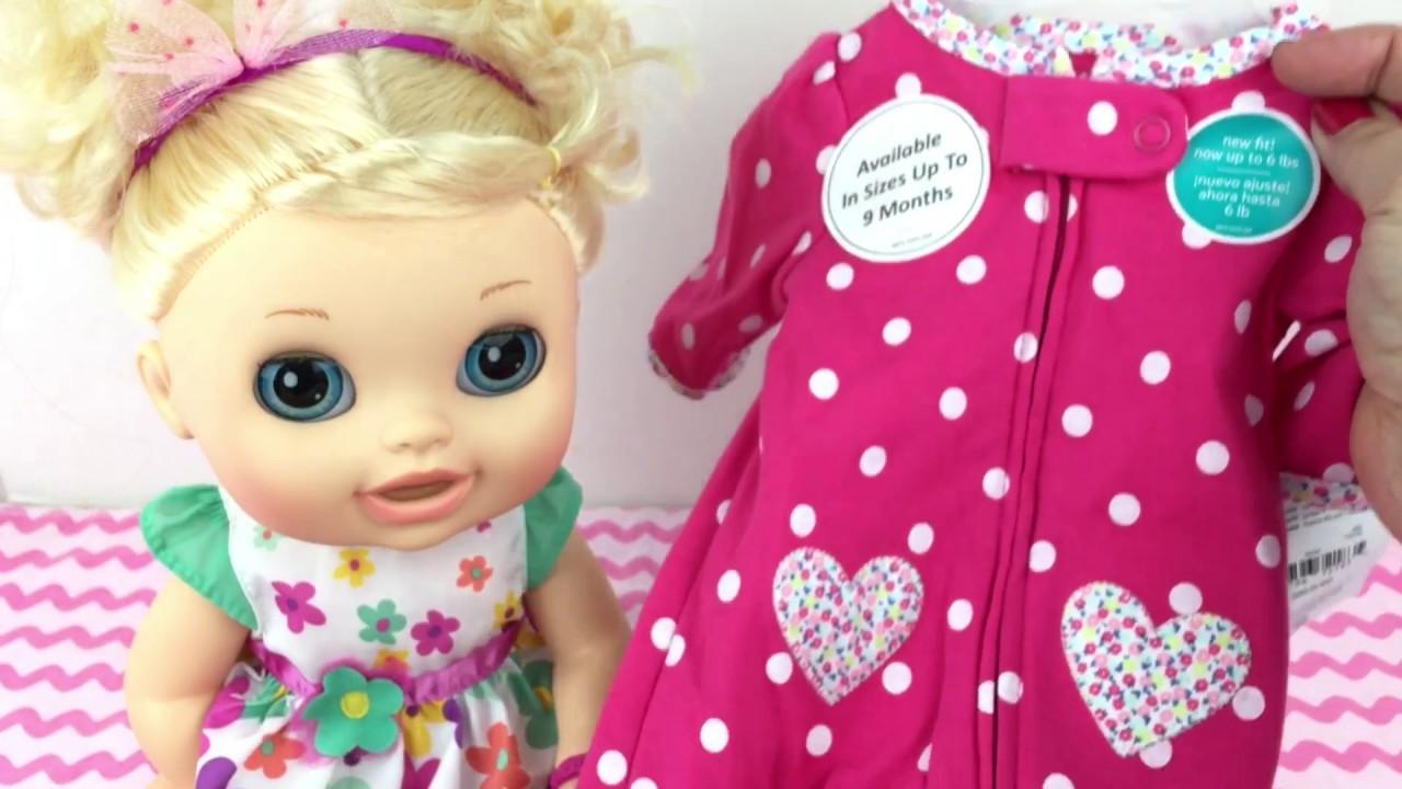 New Preemie Sleeper For My Baby Alive Eloise Youtube