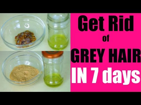 Get Rid of Grey Hair Naturally in 7 Days | SuperPrincessjo
