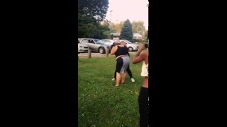 Fat fight at the park 😂