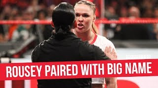 Ronda Rousey Paired With Big Name Backstage To Her Produce Her Segments