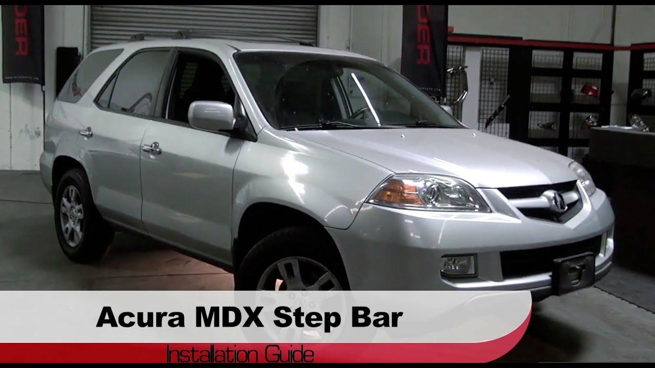 Spyder Auto Installation Acura MDX Step Bars YouTube - Acura mdx running boards