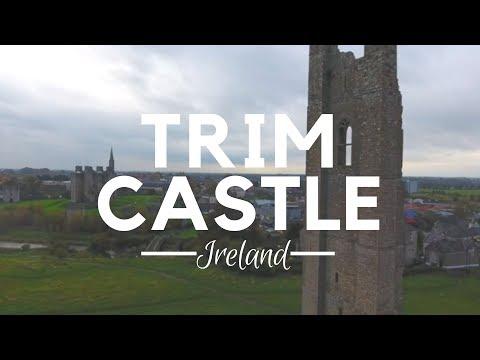 Trim Castle -County Meath - Ireland - Ireland Vacation - Trips to Ireland - Drone-Travel Ireland