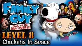 Family Guy: Back to the Multiverse Walkthrough - Mission 8 - Chicken