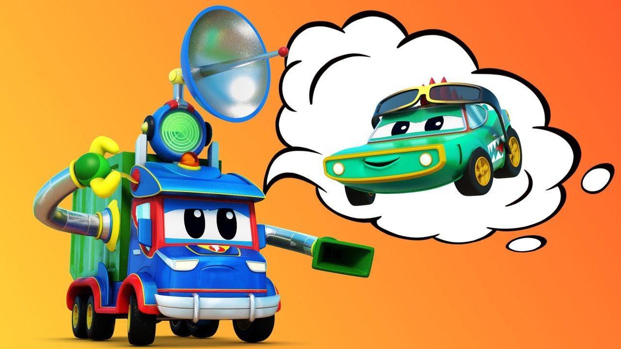 Camión de Basura y cocodrilo   Super Camión   Car City World App