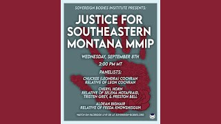 Justice for Southeastern Montana MMIP Part 2