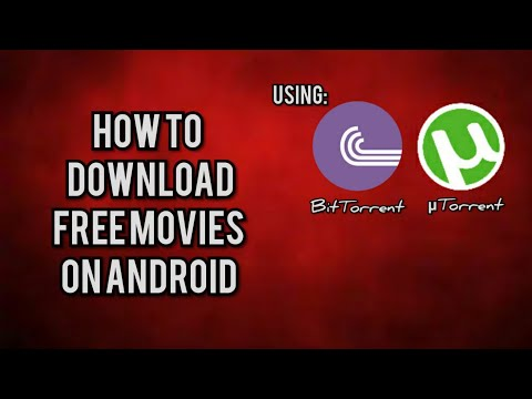 HOW TO DOWNLOAD MOVIES FOR FREE USING BITTORENT & UTORRENT IN ANDROID