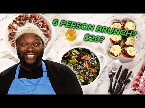 I Tried To Host A Brunch For 6 People With Only $20 Tasty