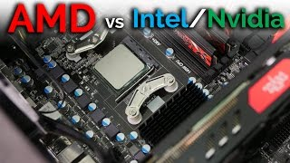 FULL AMD BUILD - FX 8350 + RX 480 vs i3-6100 + GTX 1060 6GB