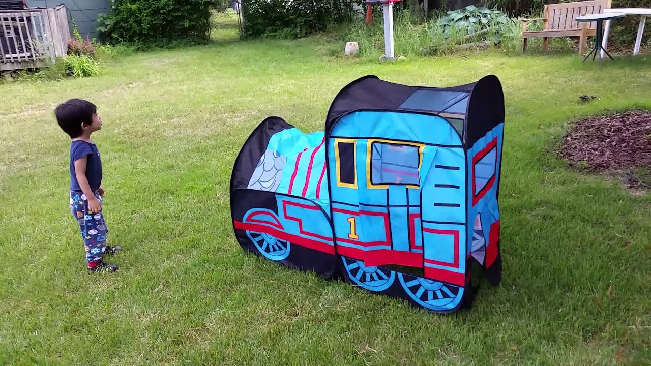 Thomas The Tank Engine Tent So Much Fun! & Thomas The Tank Engine Tent So Much Fun! - YouTube