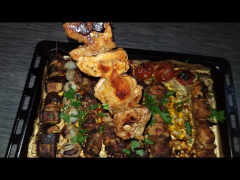 طريقة عمل تكة الدجاج ( كفتة الدجاج ) بالفرن بتتبيلة لا تقاوم - طبخ رمضان