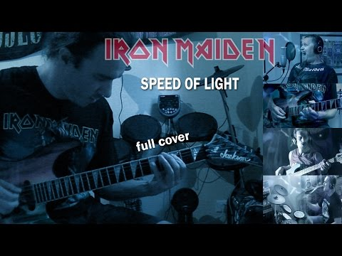 Iron Maiden - Speed Of Light full cover collaboration