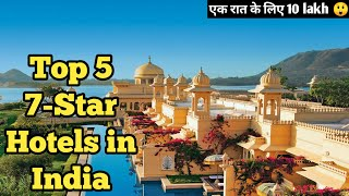 Top 5 Expensive Hotels In India Luxurious Hotels 7 Star Hotels In  Ndia
