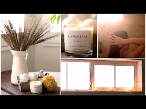 Turning My Bathroom Into A Spa Oasis (Fall Edition)
