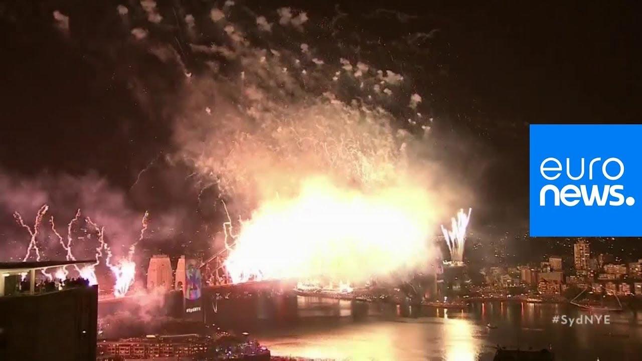 Happy New Year Australia! Sydney welcomes in 2019 with celebratory fireworks
