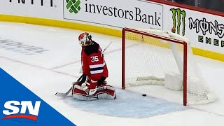 Cory Schneider Lets Bad Shot Sneak Through To End His Night Against Golden Knights