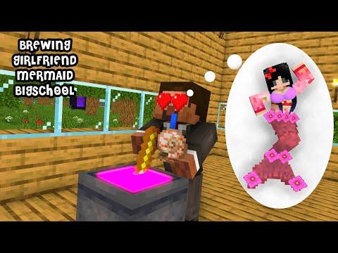 Minecraft, Brewing Girlfriend - BigSchool