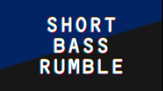 Bass Rumble Sound Effect