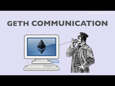 Geth communication