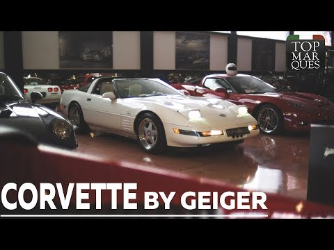 RARE SUPERCHARGED CORVETTE C4 TUNED BY GEIGER - VINTAGE MOOD
