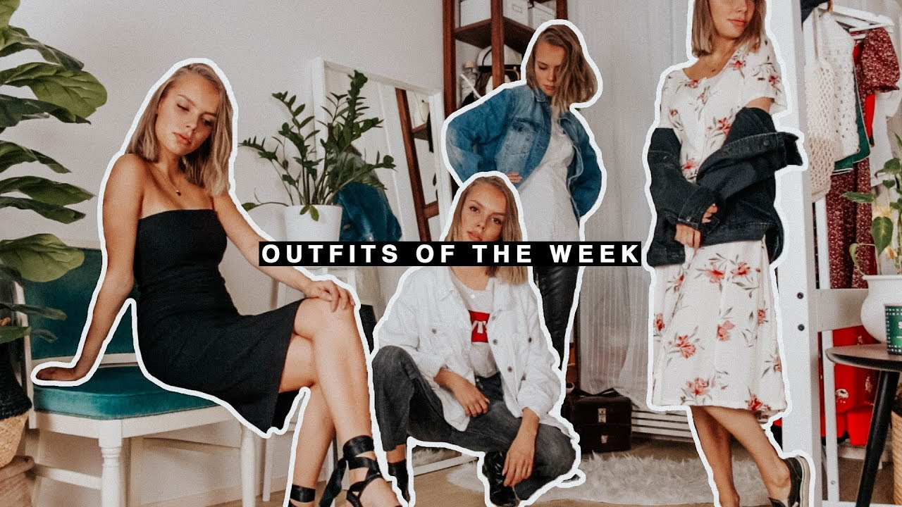 [VIDEO] - outfits of the week: back to school 1