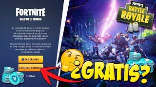 Save The World FOR FREE? New Rewards System ? - Fortnite