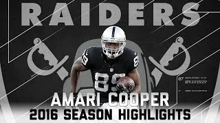 Amari Cooper's Best Highlights from the 2016 Season | NFL