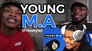 YOUNG M.A | FUNK FLEX | #Freestyle132 (REACTION)