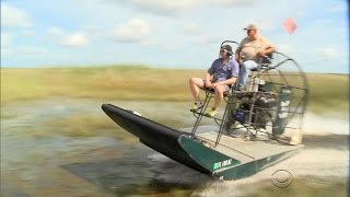 Iconic airboats being phased out in the Everglades
