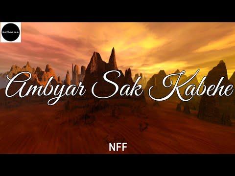 Ambyar Sak Kabehe Nff Unofficial Lirik Youtube