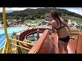 Drop Water Slide at Aqualuna Terme Olimia