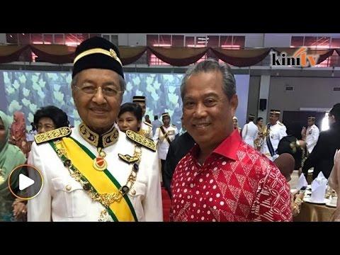 Tun M, Muhyiddin hadir Majlis Santapan Tengah Hari bersama Raja Perlis