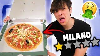 MANGIO la PIZZA MENO VALUTATA di MILANO!!!