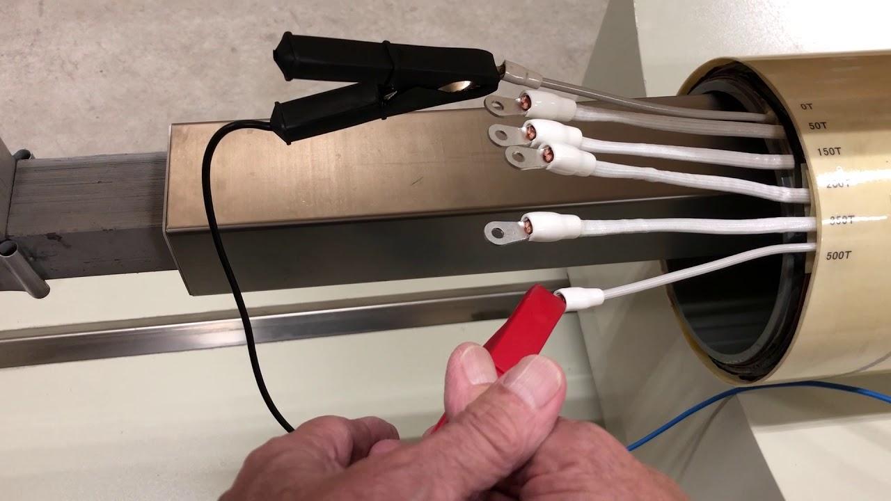 Big size coil winding turns tester 3(Nishimoto G H CO ,Ltd)