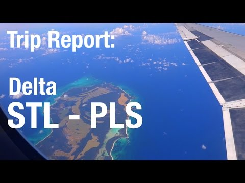 TRIP REPORT - Delta (MD-88, MD-90), St Louis to Turks and Caicos