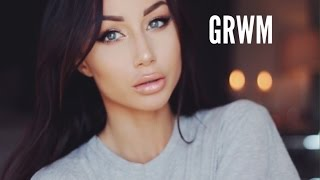 Get Ready With Me   Makeup & Hair