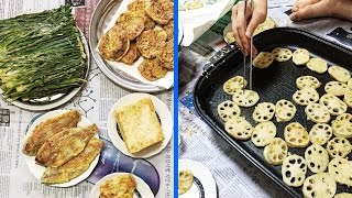 Making Jeon: Korean Pancakes ♦ How I Spent Chuseok with My Family in Korea