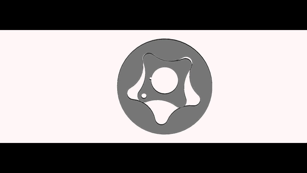 gerotor oil pump simulation - YouTube