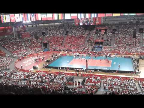 The best wave in the world? Very passionate Polish sport fans of course :)